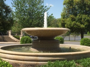 Water Fountain at Chenal Country Club