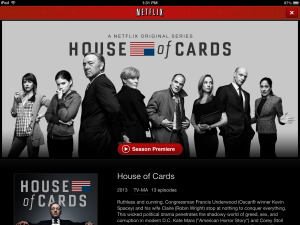 House of Cards Promo